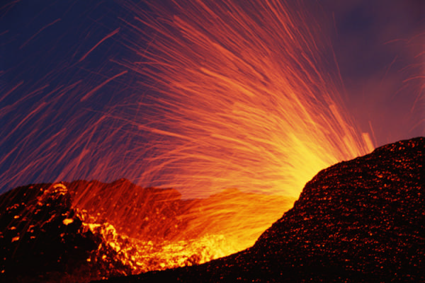France, Reunion Island, Piton de La Fournaise volcano