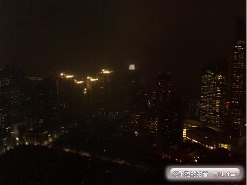 2009年7月22日,上海被黑幕笼罩