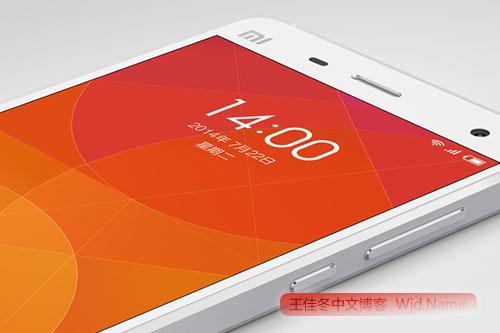 xiaomi 小米公司发布创业四年代表作:小米手机4   王佳冬个人博客