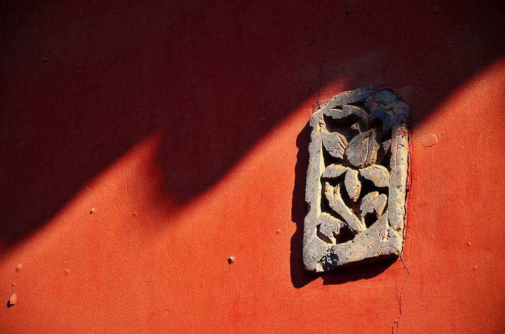 十佳摄影作品——红墙印记