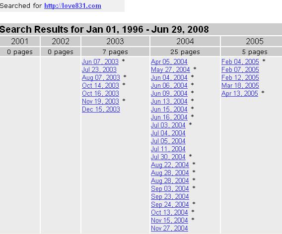 831在线的档案搜索结果